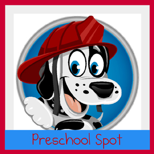 preschool spot button medium