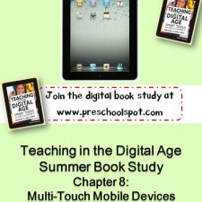 Teaching in the Digital Age: Using iPads in Preschool