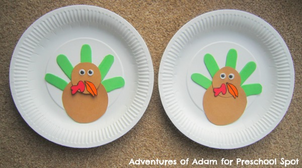 DIY Thanksgiving Turkey memory game