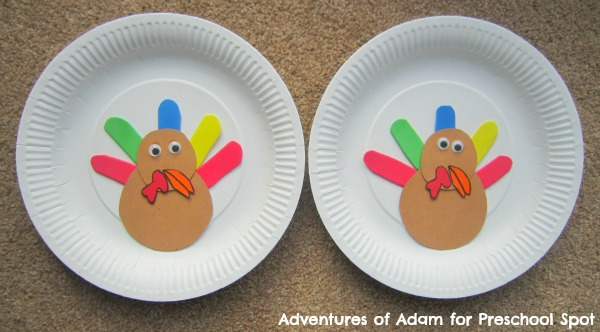 Preschool Thanksgiving Turkey game