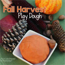 Harvest Play Dough