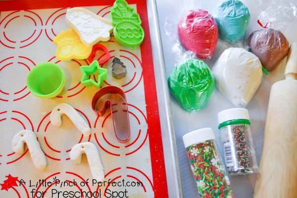 Christmas Playdough Invitation to Bake Cookies_A Little Pinch of Perfect for Preschool Spot 3 copy