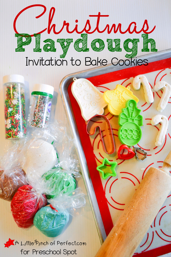 Christmas Playdough Invitation to Bake Cookies_A Little Pinch of Perfect for Preschool Spot copy