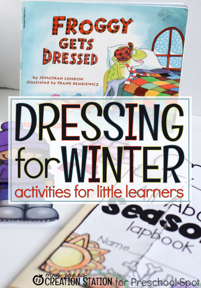 Dressing for Winter - Activities for Little Learners - MJCS