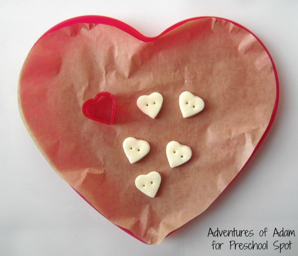 DIY Clay hearts