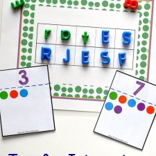 Tips for integrating literacy and math in preschool