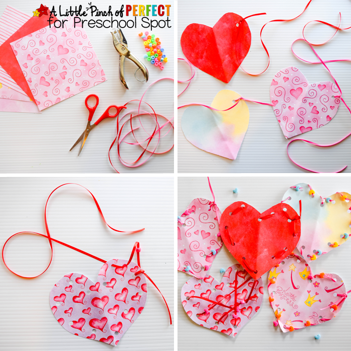 Valentines Heart Lacing Craft 4 copy